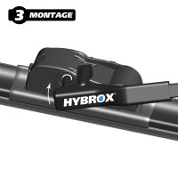 HYBROX FRONT Scheibenwischer für Alpina - B6 Gran Coupe (2011-2016)