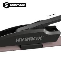 HYBROX FRONT Scheibenwischer für Cadillac - XLR (2003-2009)