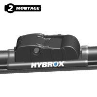 HYBROX FRONT Scheibenwischer für Alpina - XD3 (2013-2018)