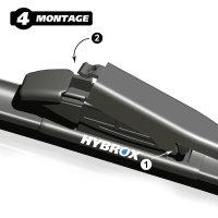 HYBROX FRONT Scheibenwischer für BMW - 4er Cabriolet (2013-2021)