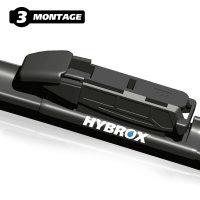 HYBROX FRONT Scheibenwischer für BMW - 4er Gran Coupe (2013-2021)