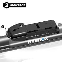 HYBROX FRONT Scheibenwischer für BMW - 3er Gran Turismo (2012-2021)