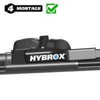 HYBROX FRONT Scheibenwischer für BMW - 6er (2011-2018)