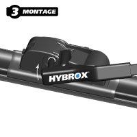 HYBROX FRONT Scheibenwischer für BMW - X6 (2007-2011)