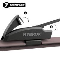HYBROX FRONT Scheibenwischer für Chrysler - Crossfire (2003-2008)