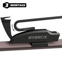 HYBROX FRONT Scheibenwischer für Dodge - Challenger (2008-2021)