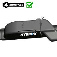 HYBROX FRONT Scheibenwischer für Fiat - 500L (2012-2021)