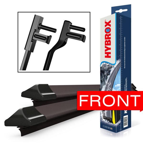 HYBROX FRONT Scheibenwischer für Fiat - Croma (2005-2011)