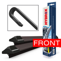 HYBROX FRONT Scheibenwischer für Hyundai - i40...